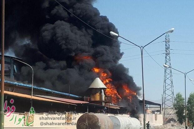 Photo of وقوع آتش سوزی شدید در ایوان کی