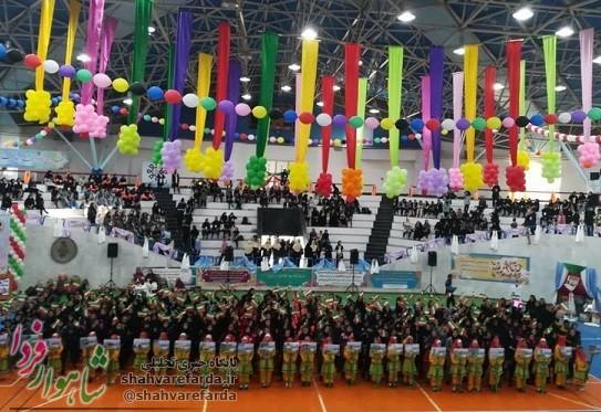 Photo of المپیاد ورزشی دختران دانش آموز کشور در شاهرود آغاز به کار کرد