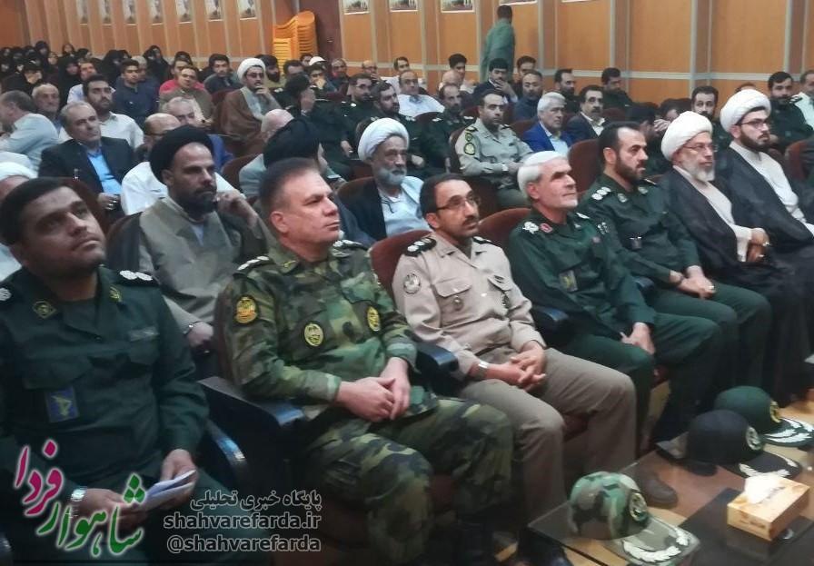 Photo of آئین معارفه فرمانده سپاه ناحیه شاهرود برگزار شد