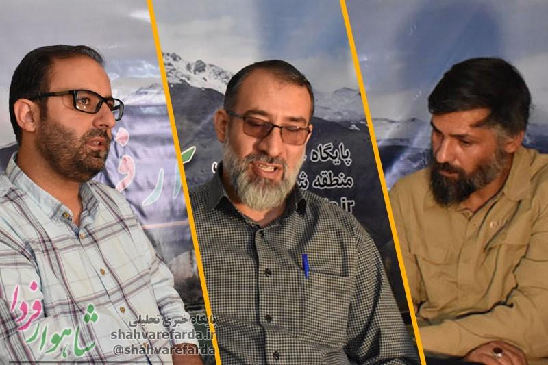Photo of گفتگوی اول/ محمد عرب نجفی، محمدرضا اسلامی و حسین یزدانی