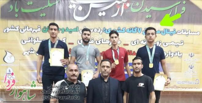 Photo of امیرحسین حاجی محمدیان ورزشکار شاهرودی مدال طلای رشته کباده را از آن خود کرد