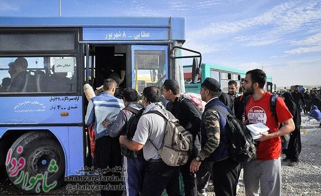 Photo of ساماندهی۲۵۰۰ دستگاه اتوبوس شهری برای جابهجایی زائران اربعین