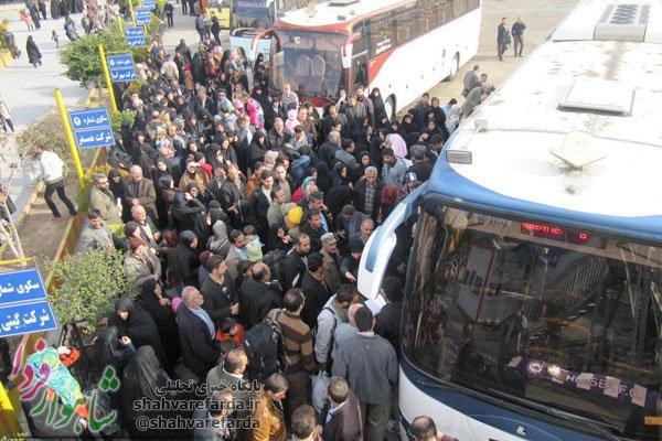 Photo of کمبود اتوبوس ها برای تهران/ ازدیاد زائران اربعین دلیل اصلی