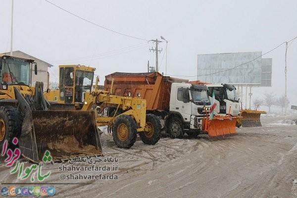 Photo of ۱۰۰ دستگاه ماشینآلات راهداری استان سمنان آماده خدمت هستند