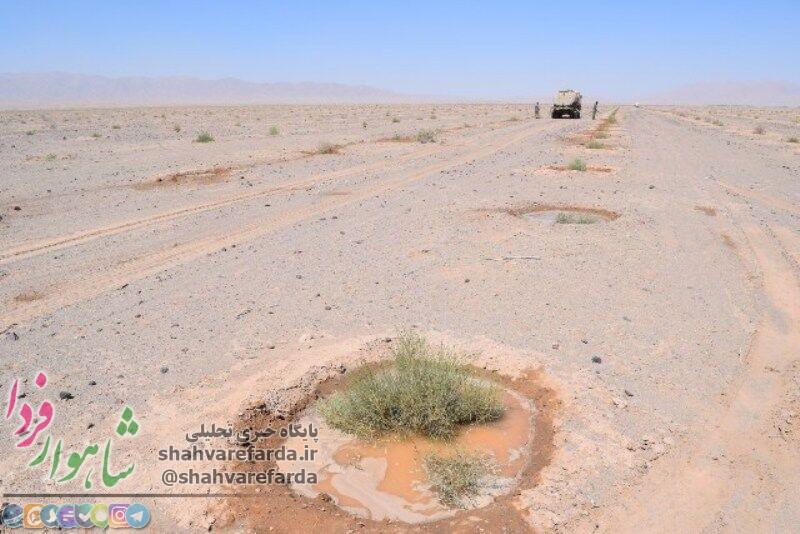 Photo of ۳۵۰ هکتار از زمینهای عباس آباد میامی بیابانزدایی شد