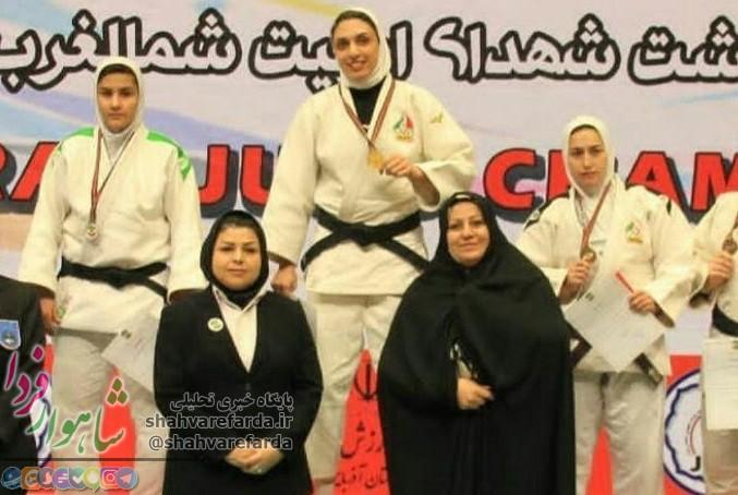 Photo of افتخار آفرینی برای ورزش بانوان شاهرود/ آقایی طلایی شد