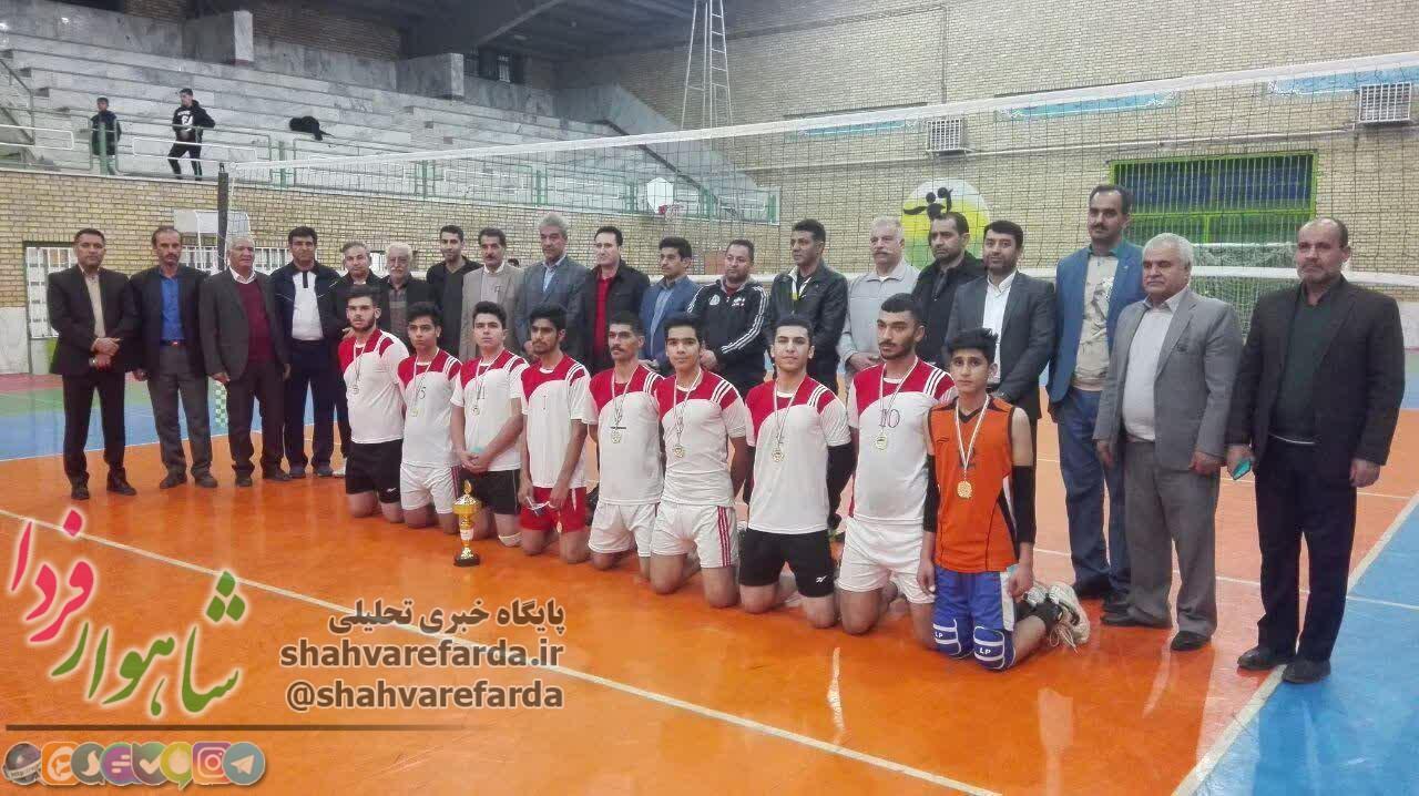 Photo of مسابقات والیبال دانش آموزی شهرستان شاهرود برگزار شد/ کسب عنوان قهرمانی دبیرستان سماء