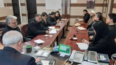 Photo of شورای هماهنگی امور ایثارگران شهرستان میامی تشکیل جلسه داد
