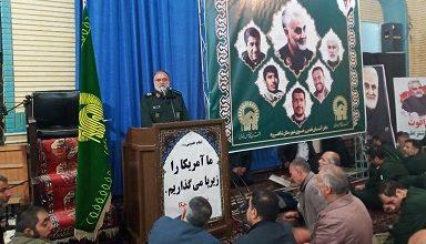 Photo of انتقام ملت ایران محدود به چند موشک نیست/ سردار سلیمانی مانع اجرای سیاست های استکباری بود