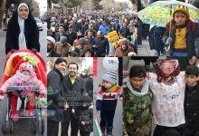 Photo of برف هم حریف مردم نشد/ شاهکار مردم شاهوار در ۲۲ بهمن ۹۸/گزارش تصویری قسمت اول
