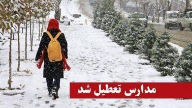 Photo of مدارس نوبت عصر شهرستان شاهرود تعطیل شد